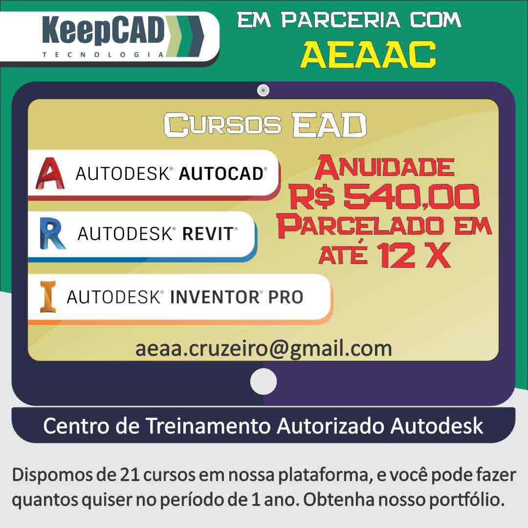 KeepCAD – Cursos de AutoCAD e Relacionados